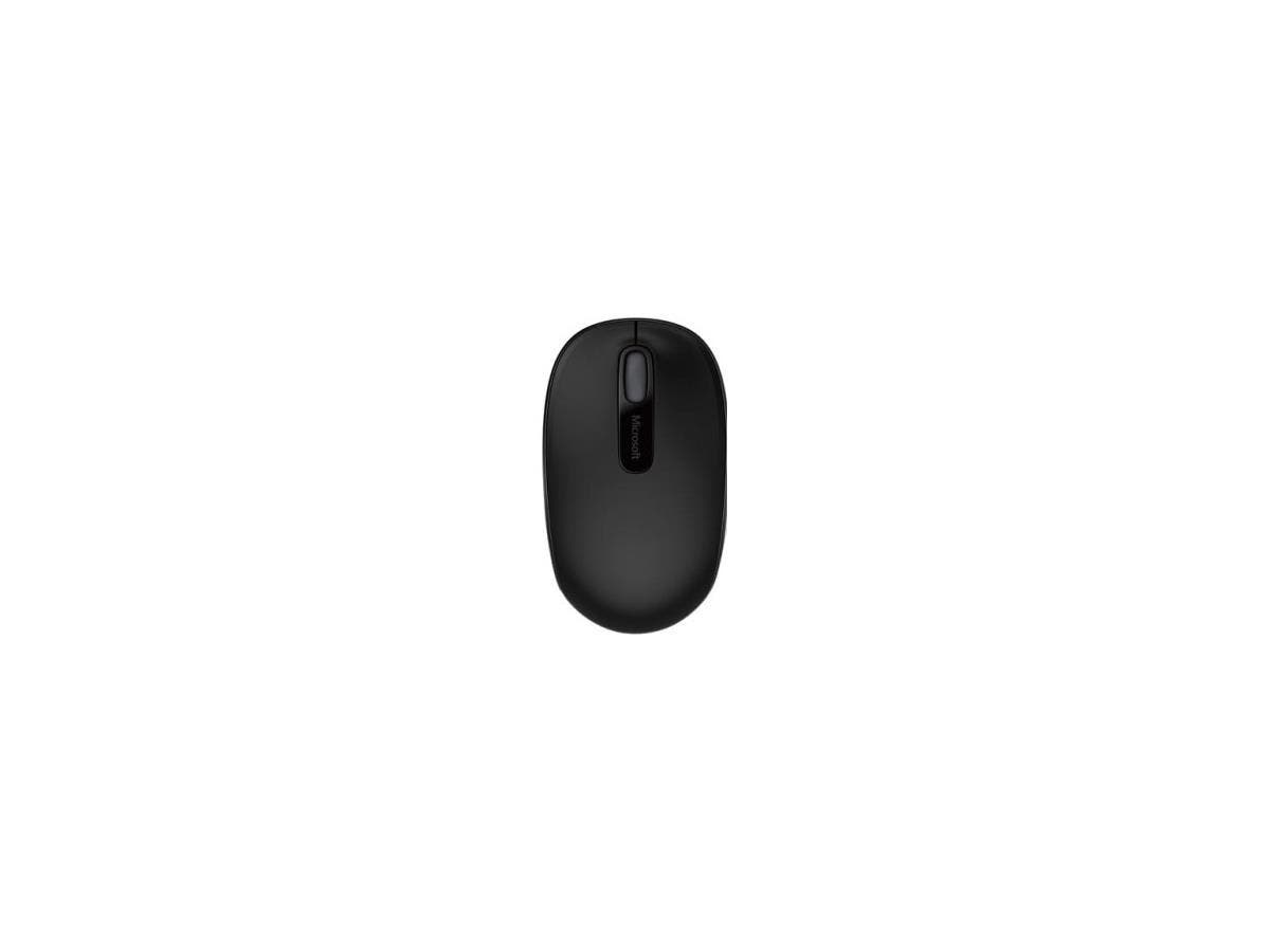 Microsoft 1850 Mouse - Optical - Wireless - Radio Frequency - Black
