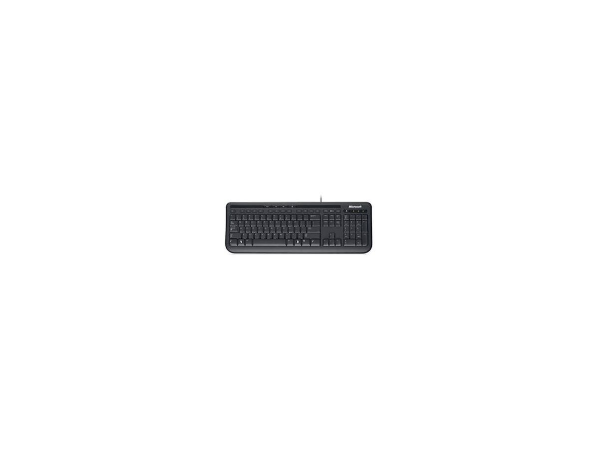 Microsoft Wired Keyboard 600 - USB - Black - English