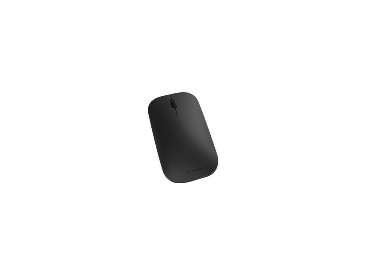 Microsoft Designer Bluetooth Mouse - BlueTrack - Wireless - Bluetooth - Black - 1000 dpi - Computer, Tablet, Notebook - Scroll Wheel - 3 Button(s) - Symmetrical