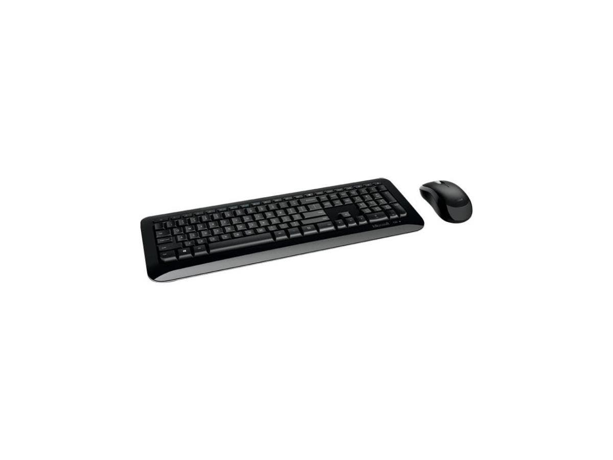 Microsoft Wireless Desktop 850 - USB 2.0 Wireless USB 2.0 Wireless Optical - 1000 dpi - 3 Button - Scroll Wheel - QWERTY - Symmetrical - AA, AAA - Compatible with Computer, Notebook-Large-Image-1
