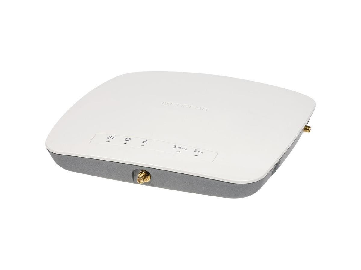 Netgear ProSafe WAC730 IEEE 802.11ac 1700Mbit/s Wireless Access Point - AC Adapter and PoE (Power sources ONLY) - 2.40 GHz, 5 GHz - 3 x External Antenna(s) - 1 x Network (RJ-45) - Ceiling Mountable, W-Large-Image-1