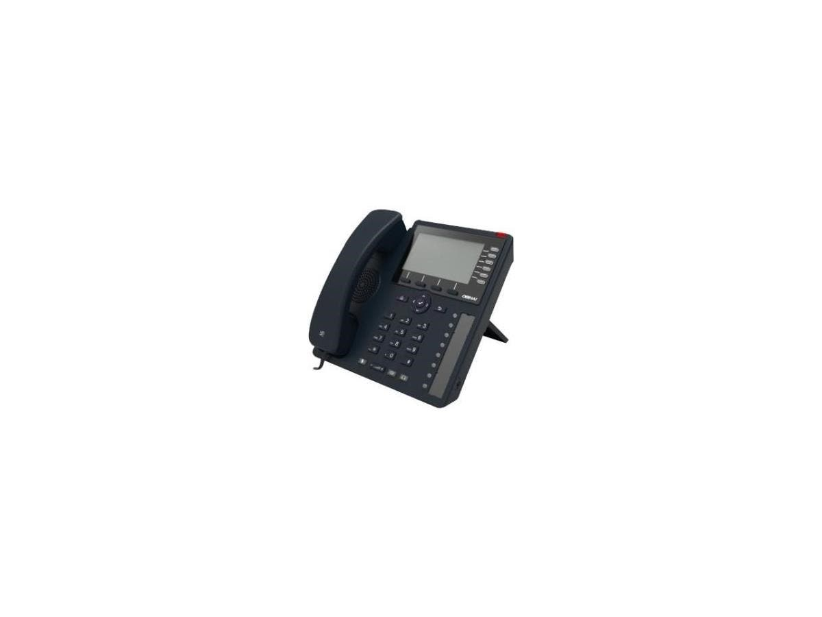Obihai Gigabit IP Phone with Power Supply - Up to 24 Lines - Built-In WiFi and Bluetooth - Works with Google Voice and SIP-Based Services - 24 x Total Line - VoIP - IEEE 802.11n - Caller ID - Speakerp-Large-Image-1