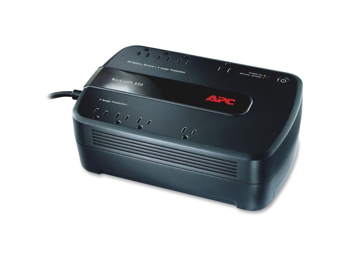 APC Back-UPS 650 VA Desktop UPS - 650 VA/390 W - 120 V AC - 3 Minute - Desktop - 3 Minute - 4 x NEMA 5-15R, 4 x NEMA 5-15R-Large-Image-1