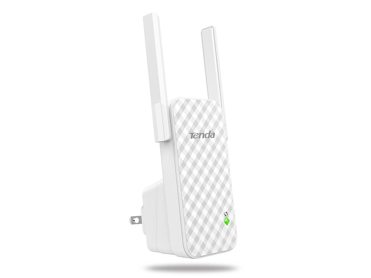 Tenda N300 Wi-Fi Wall Plug Range Extender (A9) -Large-Image-1