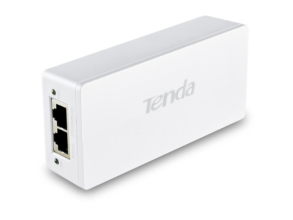Tenda PoE30G-AT IEEE802.3at Gigabit PoE Injector-Large-Image-1