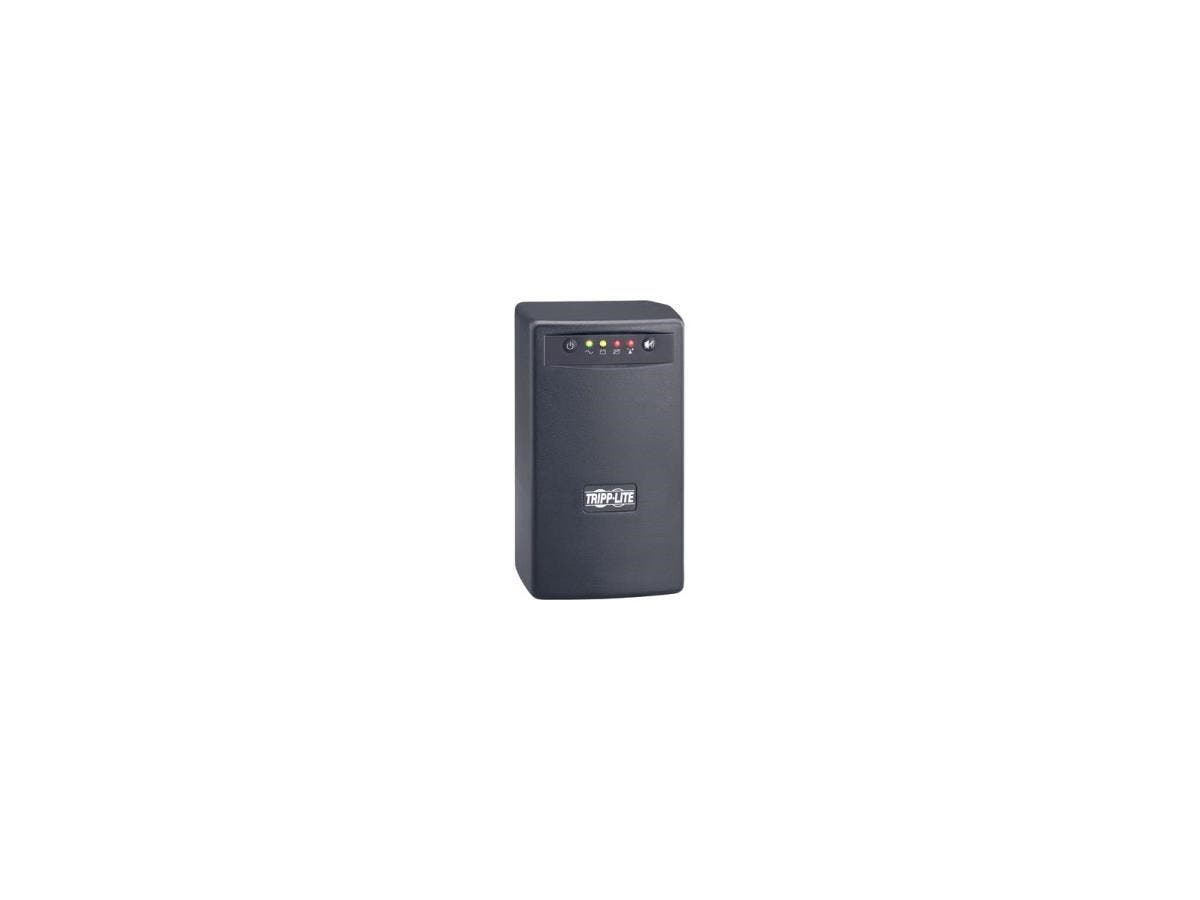 Tripp Lite UPS Smart 550VA 300W Battery Back Up Tower AVR 120V USB RJ11 TAA GSA - 550VA/300W - 4 Minute Full Load - 3 x NEMA 5-15R - Battery Backup System, 3 x NEMA 5-15R - Surge-protected-Large-Image-1