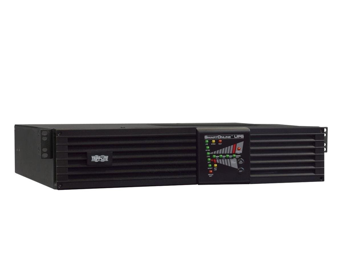 Tripp Lite UPS Smart Online 3000VA 2500W International Rackmount 208-240V - 3000 VA/2500 W - 240 V AC, 240 V AC - 6 Minute - 2U Tower/Rack Mountable - 6 Minute - 10 Receptacle(s)
