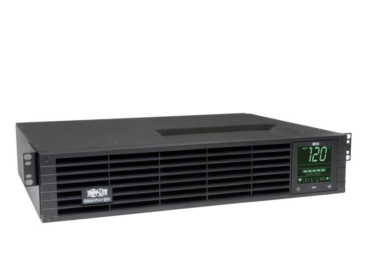 Tripp Lite UPS Smart 1000VA 900W Rackmount AVR 120V LCD USB Extended Run 2URM - 1000 VA/900 W - 120 V AC - 6.30 Minute - 2U Tower/Rack Mountable - 6.30 Minute - 8 x NEMA 5-15R