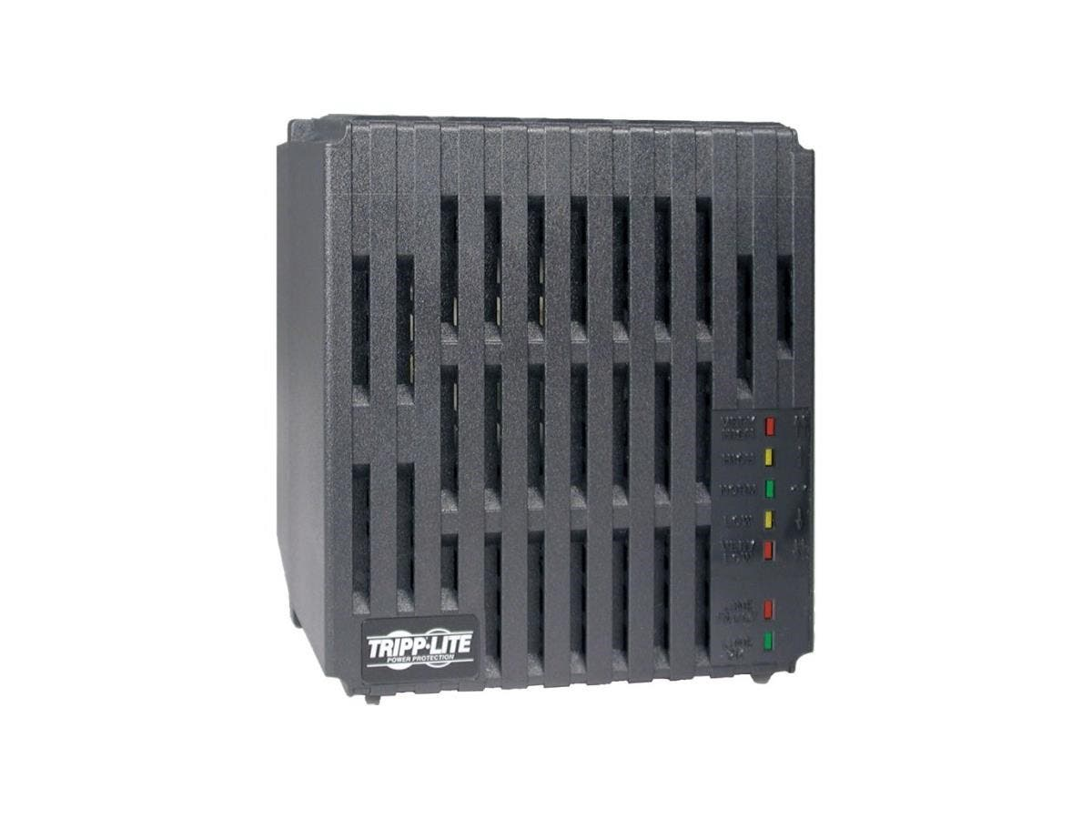 Tripp Lite 1800W Line Conditioner w/ AVR / Surge Protection 120V 15A 60Hz 6 Outlet 6ft Cord Power Conditioner - Surge, EMI / RFI, Over Voltage, Brownout protection - NEMA 5-15R - 110 V AC Input - 1.80-Large-Image-1