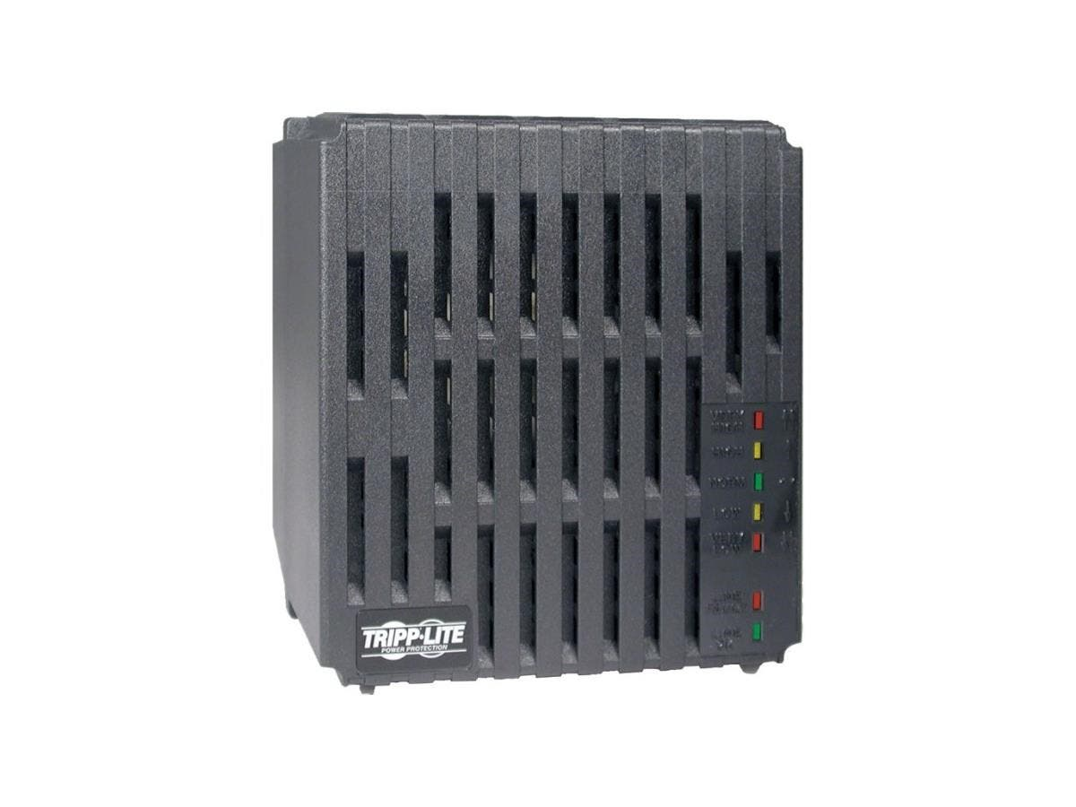 Tripp Lite 2400W Line Conditioner w/ AVR / Surge Protection 120V 20A 60Hz 6 Outlet 6ft Cord Power Conditioner - Surge, EMI / RFI, Over Voltage, Brownout protection - NEMA 5-15R, NEMA 5-20R - 110 V AC -Large-Image-1