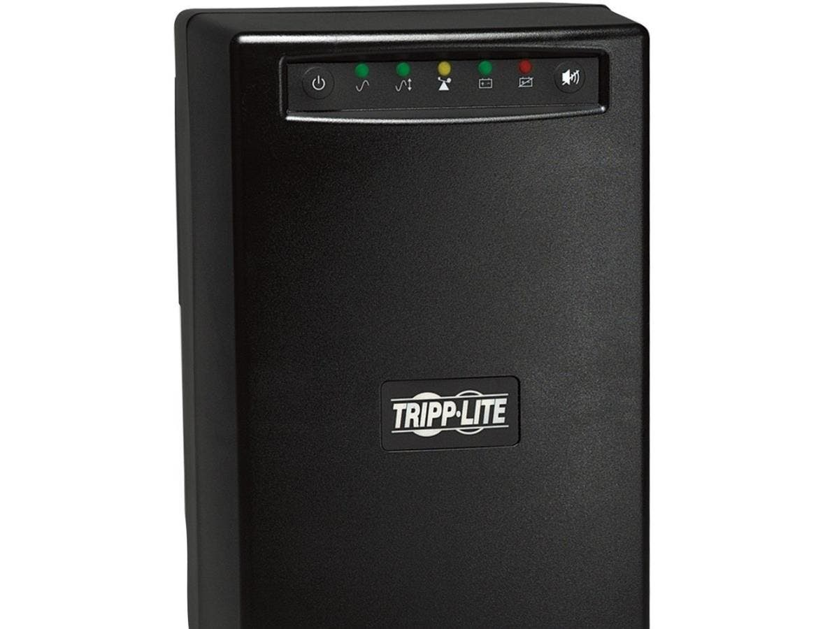 Tripp Lite UPS Smart 1500VA 980W Tower AVR 120V USB DB9 SNMP for Servers - 1500 VA/980 W - 120 V AC - 7 Minute - Tower - 7 Minute - 6 x NEMA 5-15R - Brownout, Black Out, Surge, Over Voltage
