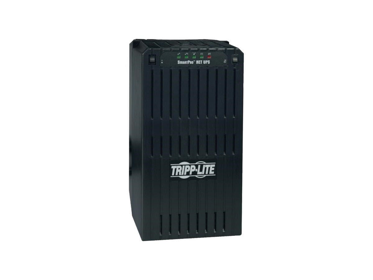 Tripp Lite UPS Smart 2200VA 1700W Tower AVR 120V XL DB9 for Servers - 2200 VA/1700 W - 120 V AC - 11 Minute - Tower - 11 Minute - 6 x NEMA 5-15R-Large-Image-1