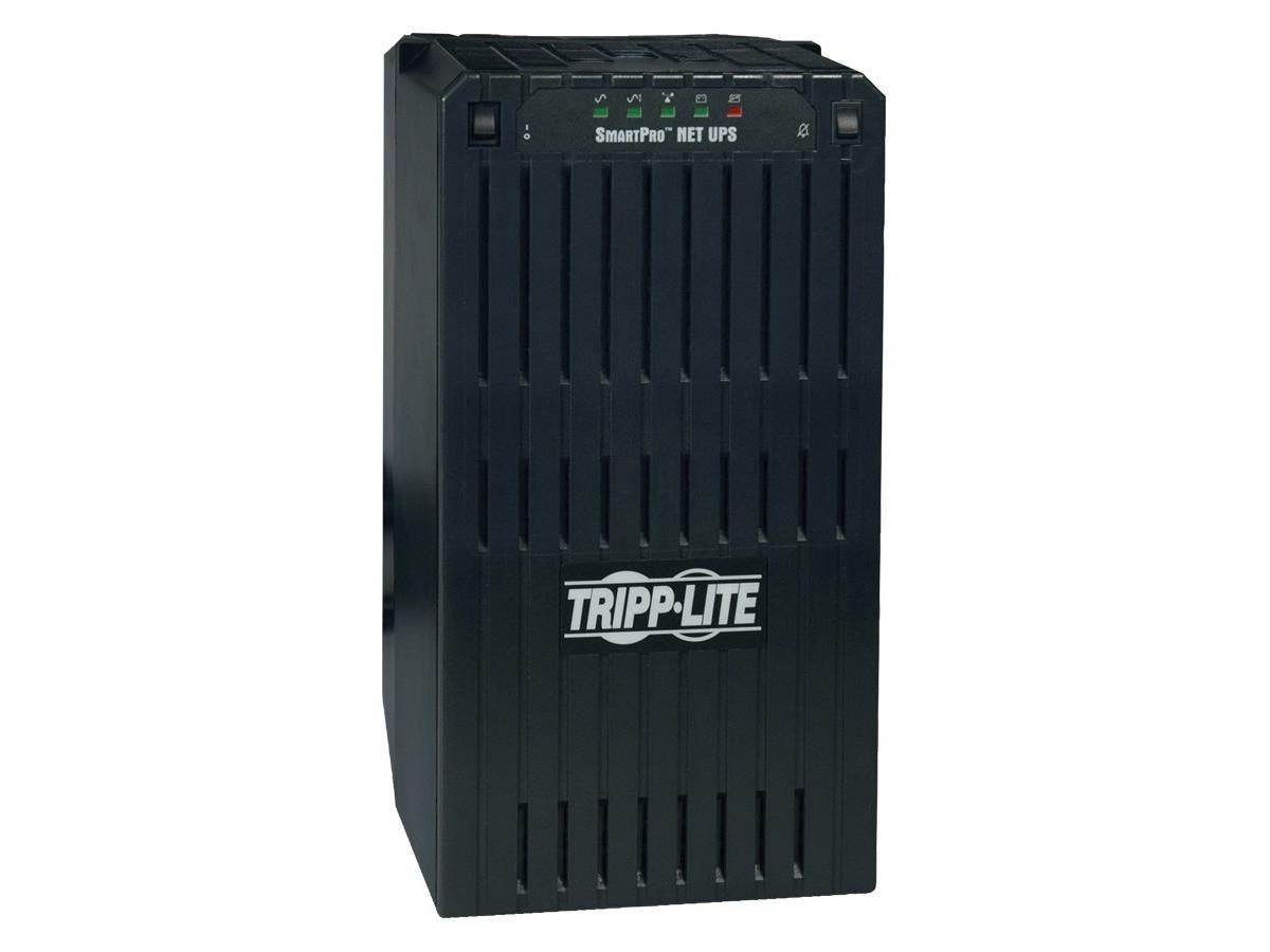 Tripp Lite UPS Smart 3000VA 2400W Tower AVR 120V XL DB9 for Servers - 3000VA/2400W - 7 Minute Full Load - 4 x NEMA 5-15R, 4 x NEMA 5-20R-Large-Image-1