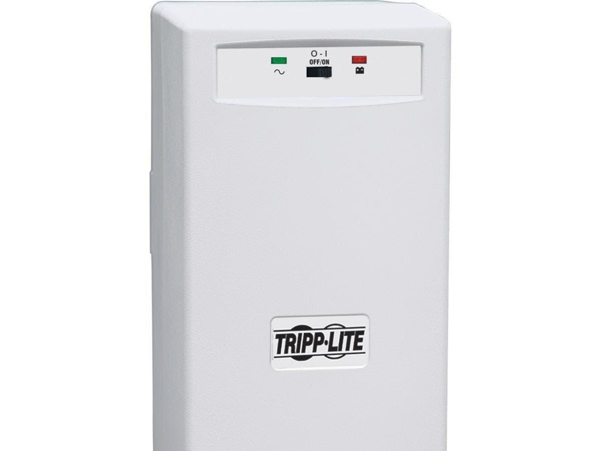 Tripp Lite UPS 300VA 175W Desktop Battery Back Up Tower 120V PC / Mac - 300VA/175W - 5 Minute Full Load - 3 x NEMA 5-15R-Large-Image-1