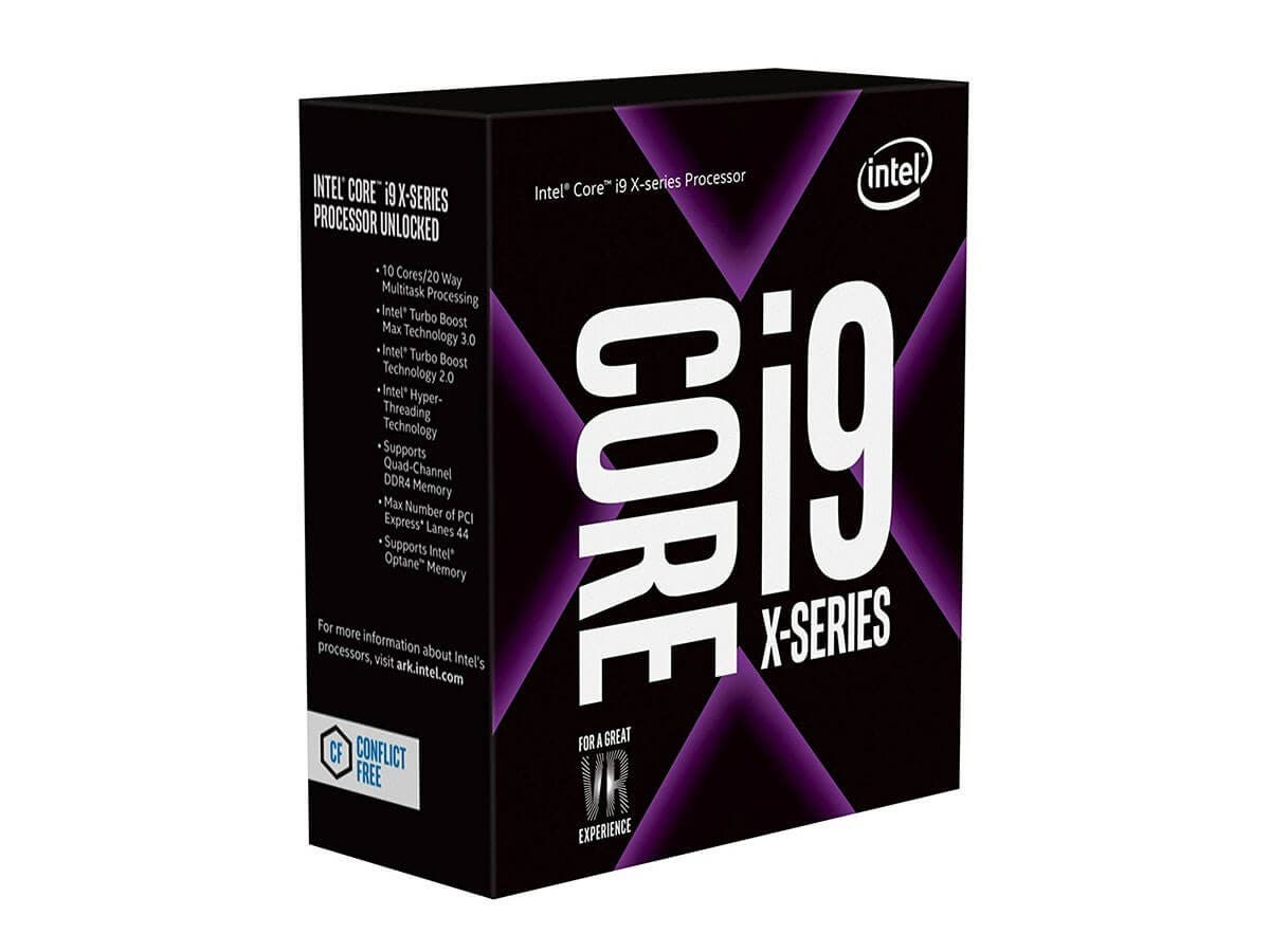 Intel Core i9-7900X 10-Core 3.3 GHz LGA 2066 140W BX80673I97900X Desktop Processor (Open Box)