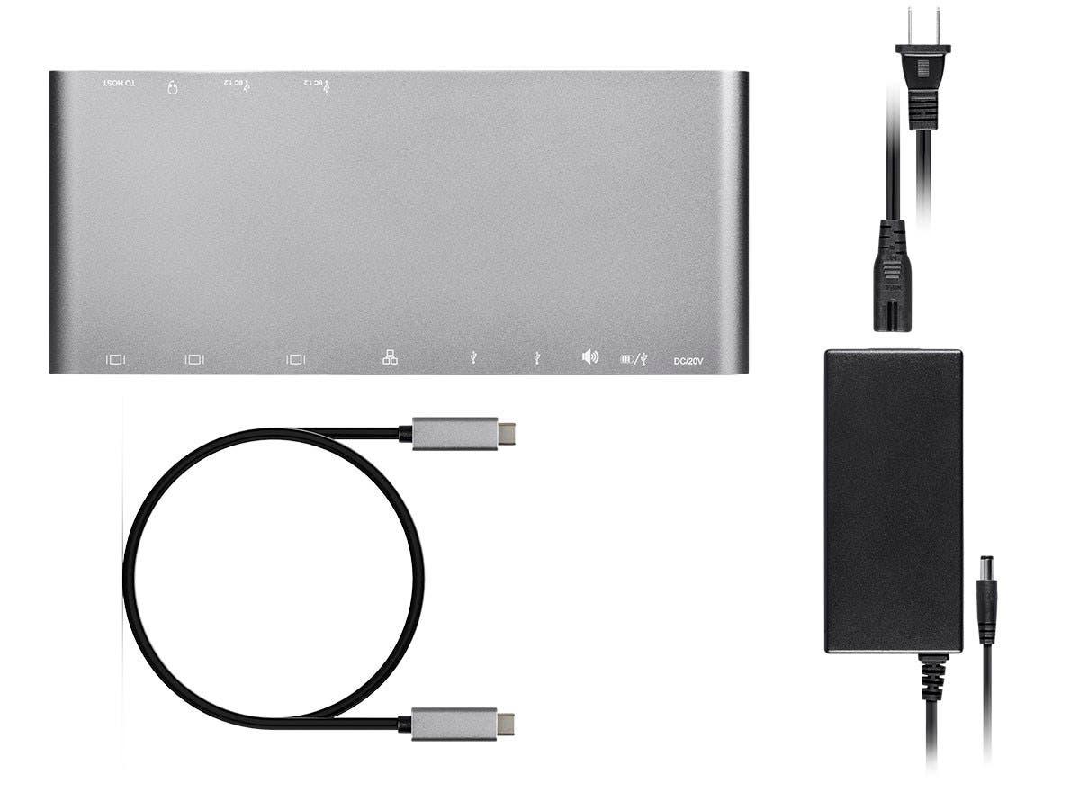 Monoprice USB-C Dual-Monitor Docking Station for USB-C