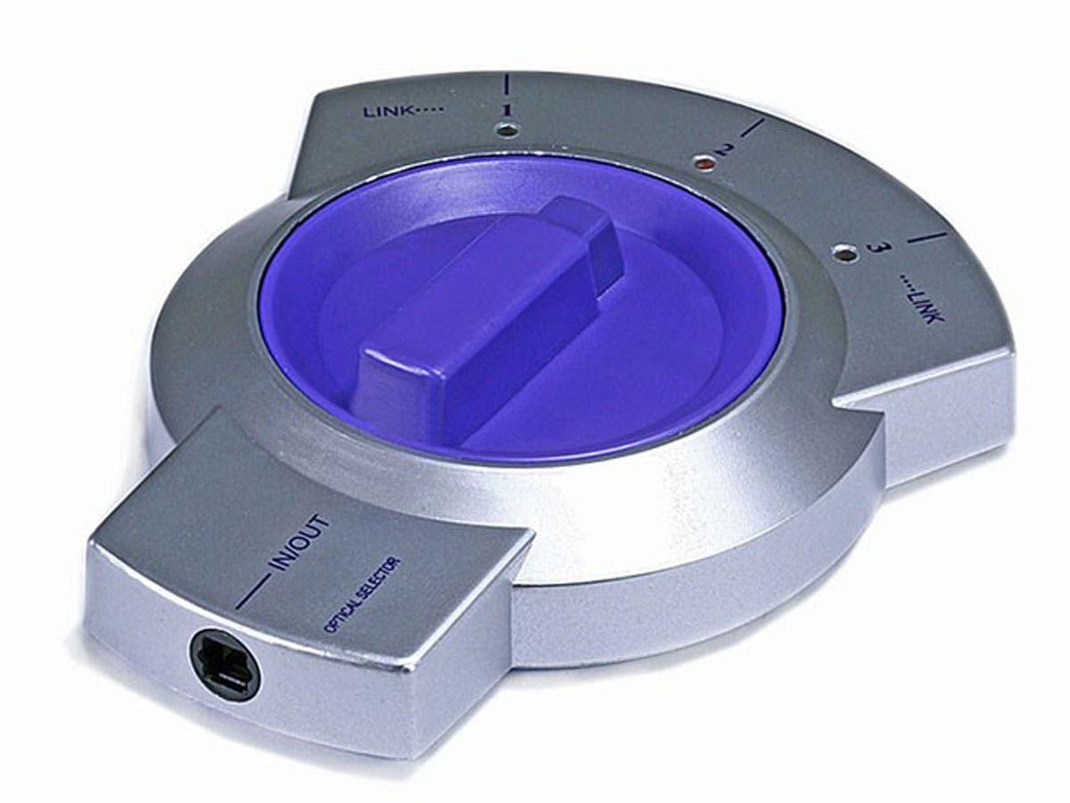 Monoprice 3x1 S Pdif Toslink Digital Optical Audio Bi Directional 4 Way Switch Manual