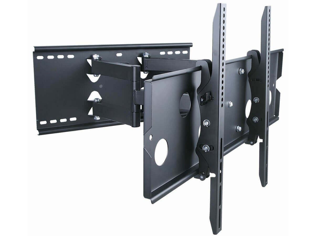 Monoprice Titan Series Full Motion Wall Mount for Large 32 - 60 inch TVs 175lbs Black (Open Box)-Large-Image-1