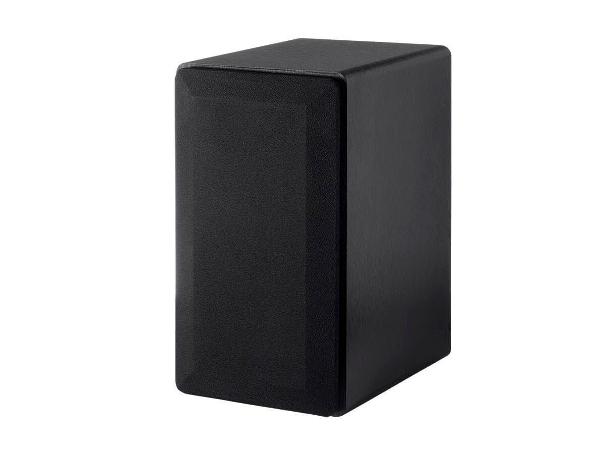 Monoprice Select 4-Inch 2-Way Bookshelf Speakers (Pair) Black Finish (Open Box)-Large-Image-1