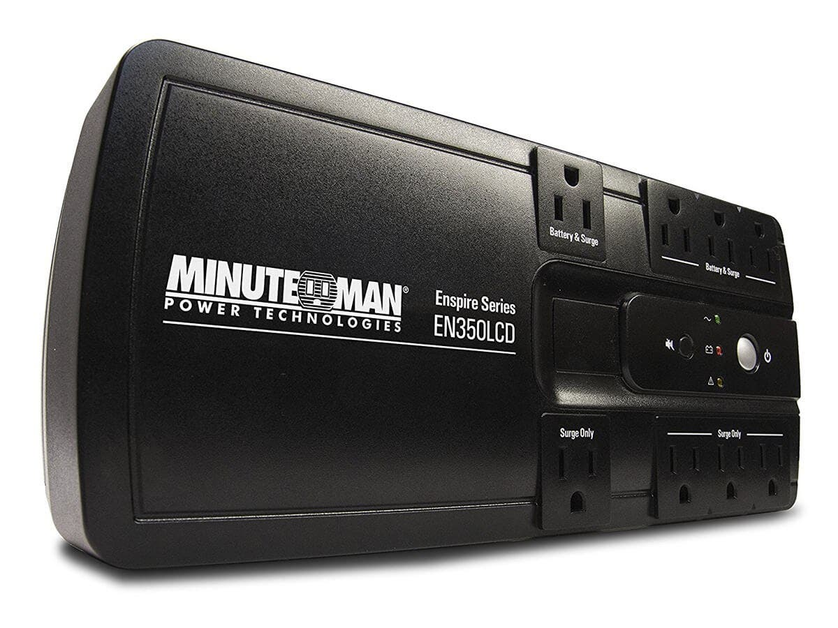 MINUTEMAN EN350 Uninterrupted Power Supply - STANDBY UPS
