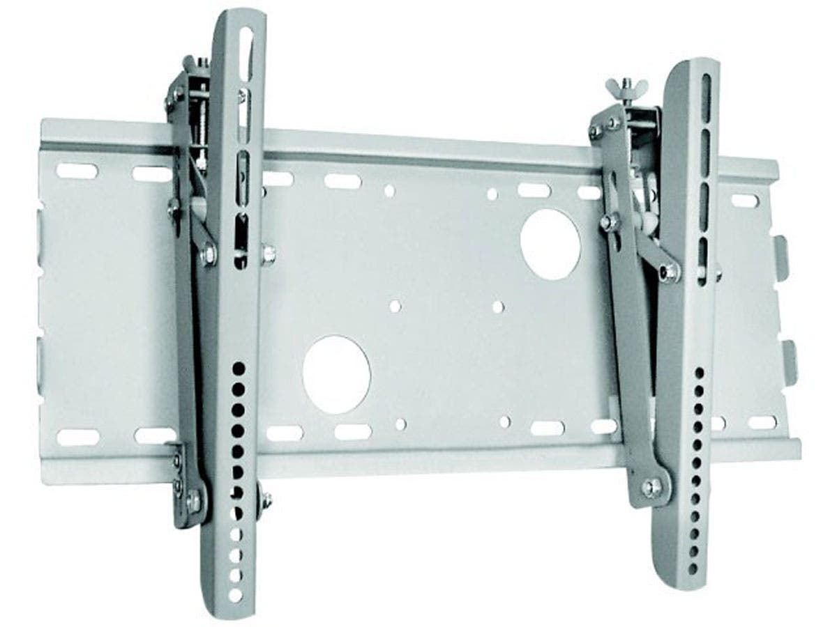Monoprice Titan Series Tilt TV Wall Mount Bracket, For TVs 32in to 55in, Max Weight 165 lbs, VESA Patterns Up to 450x250, Works with Concrete & Brick, UL Certified-Large-Image-1