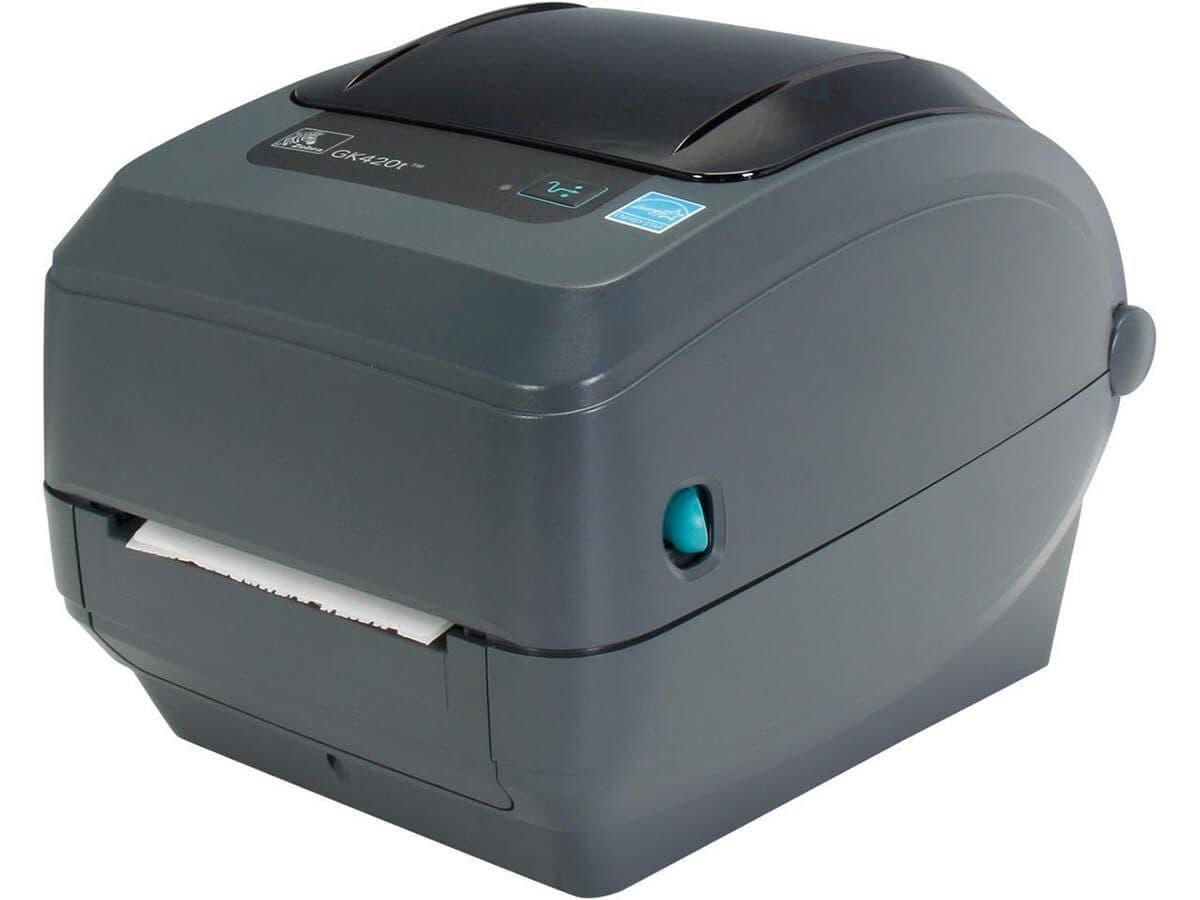 Zebra Gk420t Thermal Transfer Advanced Desktop Printer With Usb Rs 232 Serial Parallel