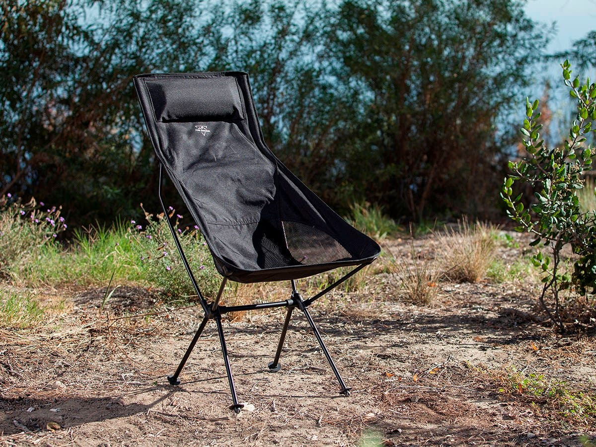 Pure Outdoor By Monoprice Tall Camp Chair Small Image 6