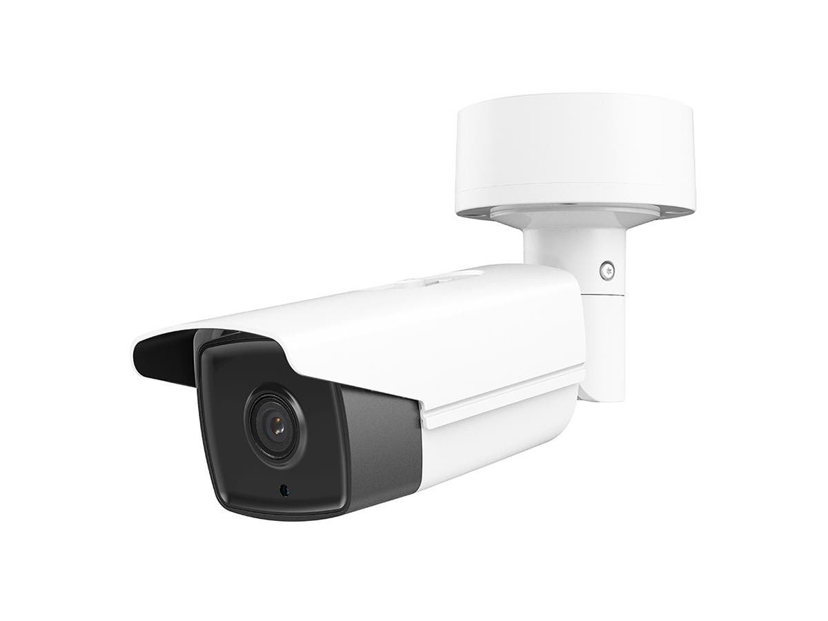 Monoprice 8MP, 4K 2.8mm Wide Angle Fixed Lens, Bullet IP Security Camera, Matrix IR 2.0, WDR with microSD Slot up to 128GB, PoE-Large-Image-1