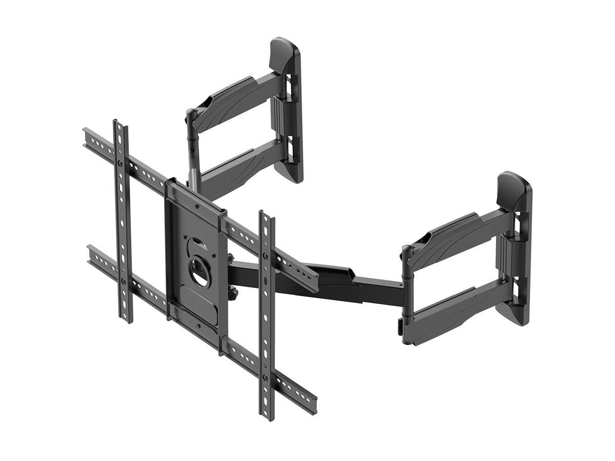 Monoprice Cornerstone Series Corner Friendly Full-Motion Articulating TV Wall Mount Bracket For LED TVs 37in to 70in, Max Weight 99 lbs., VESA Patterns Up to 600x400, Rotating - main image