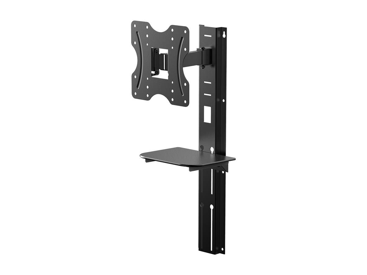 Monoprice Full-Motion Articulating TV Wall Mount Bracket - For TVs 24in to 42in, Max Weight 66lbs, Extension Range of 3.5in to 9.1in, VESA Patterns Up to 200x200-Large-Image-1