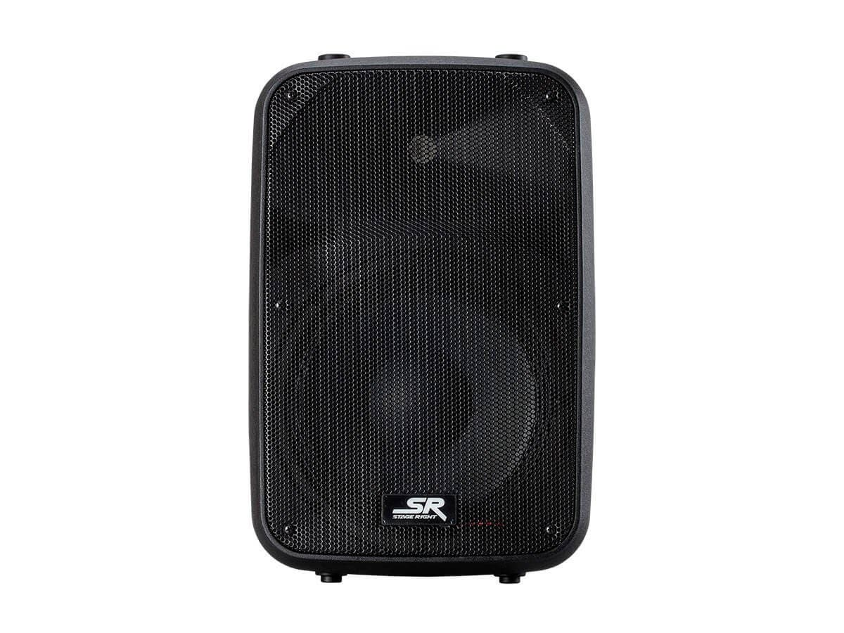 Stage Right by Monoprice APS 10 200W 10-inch 2-way Active PA System with 2-Channel Mixer (each) (Open Box)-Large-Image-1