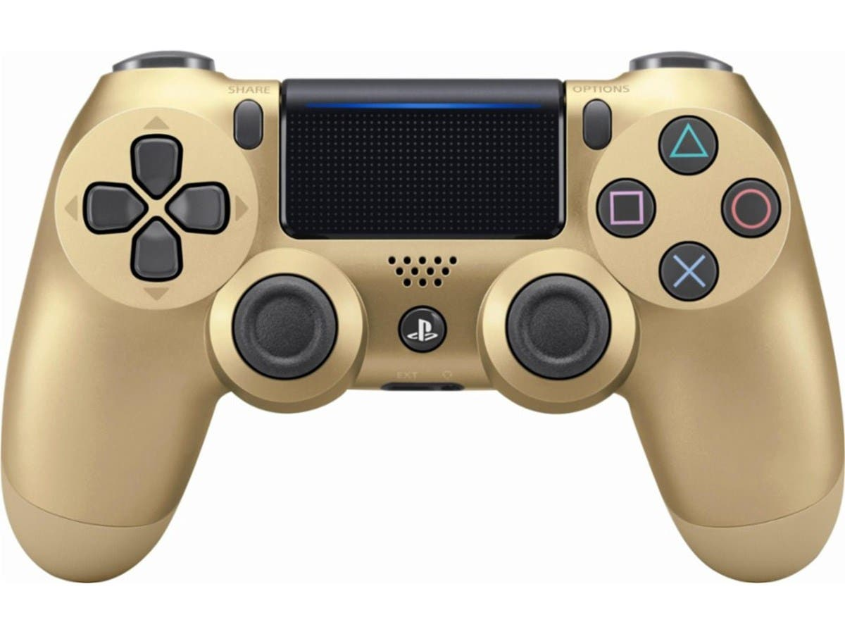 Sony DualShock 4 Wireless Controller for PlayStation 4 (PS4) - Gold-Large-Image-1
