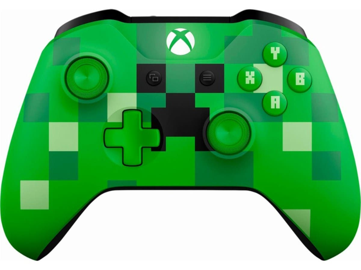 Microsoft Xbox One Wireless Controller - Minecraft Creeper-Large-Image-1
