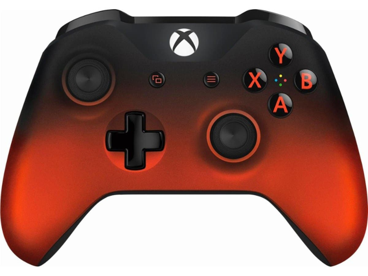 Microsoft Xbox One Wireless Controller - Volcano Shadow Special Edition-Large-Image-1
