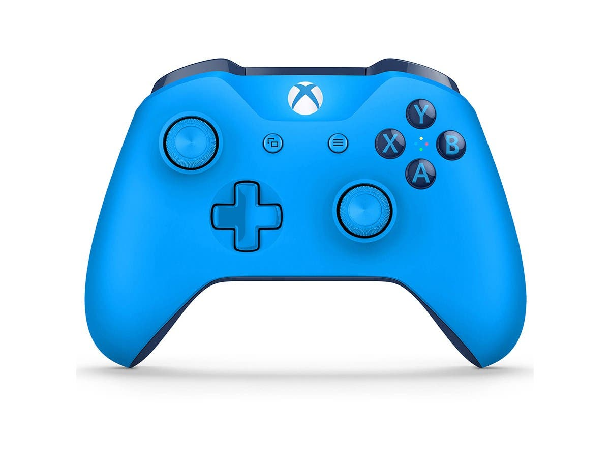 Microsoft Xbox One Wireless Controller - Blue-Large-Image-1