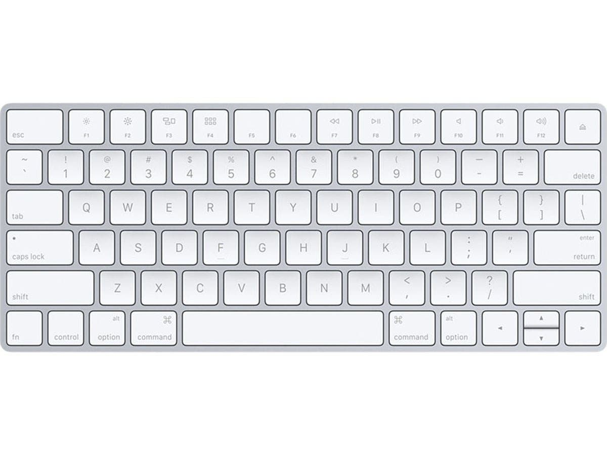 apple magic wireless rechargeable keyboard mla22ll a for ipad macbook and iphone. Black Bedroom Furniture Sets. Home Design Ideas