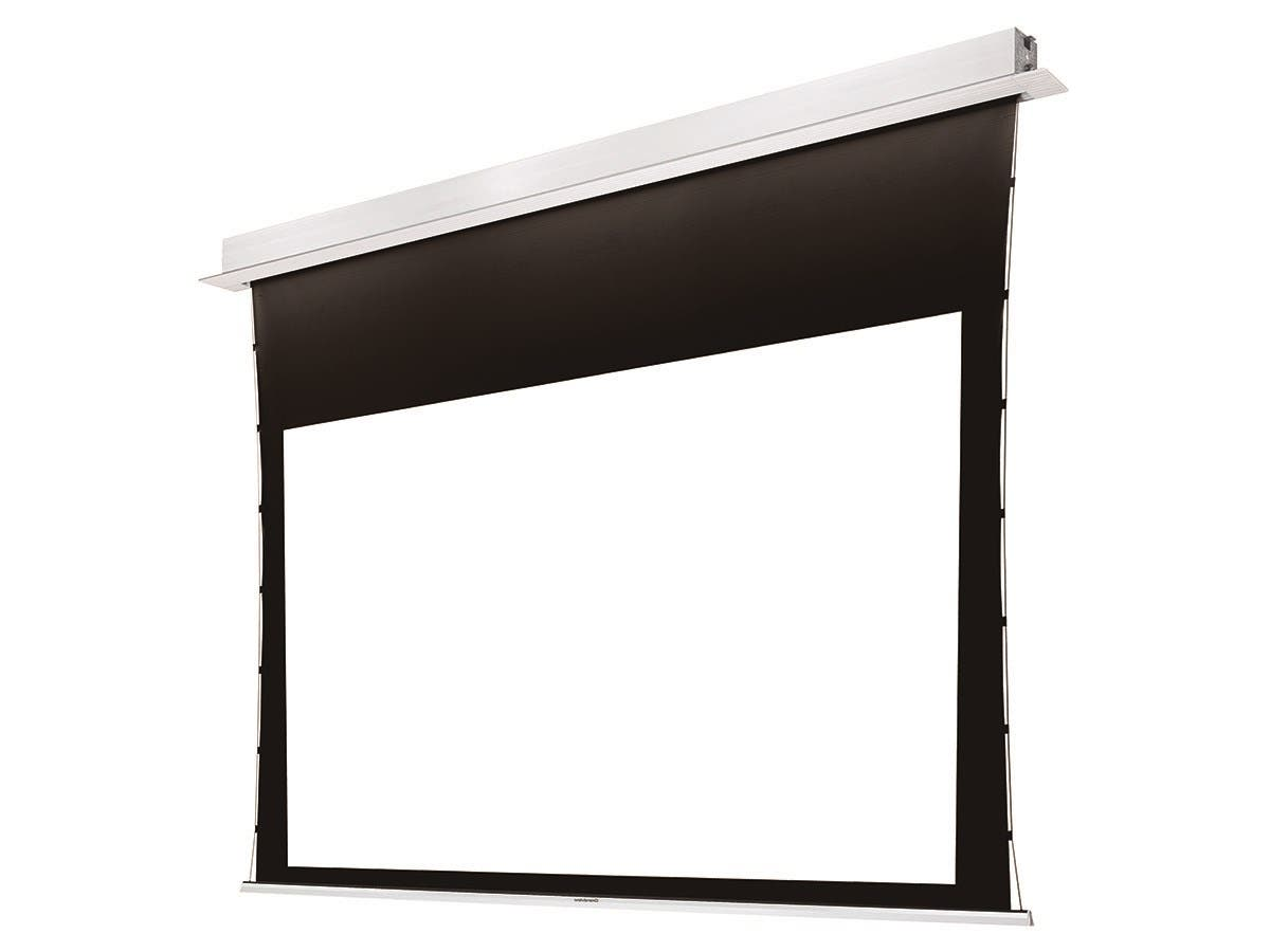 Monoprice 120-inch Ultra HD 4K Ceiling-Recessed Motorized Projection Screen 16:9 No Logo-Large-Image-1