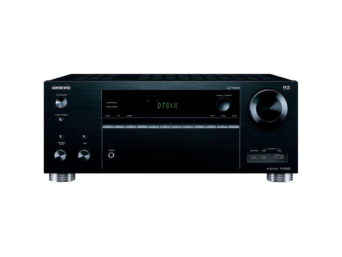 Onkyo TX-RZ620 7.2-Ch. Dolby Atmos & DTS:X 4K Ultra HD & 3D Pass thru A/V Home Theater Receiver - Black