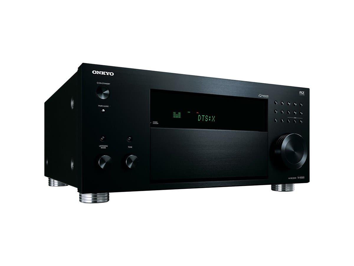 Onkyo TX-RZ820 7.2-Ch. THX Select Dolby Atmos & DTS:X 4K Ultra HD & 3D Pass thru A/V Home Theater Network Receiver - Black