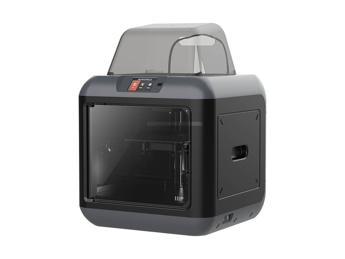 MP Fully Enclosed 150 3D Printer, Ultra Quiet, Assisted Leveling, Easy Wi-Fi, Touch Screen (Inventor II)-Large-Image-1