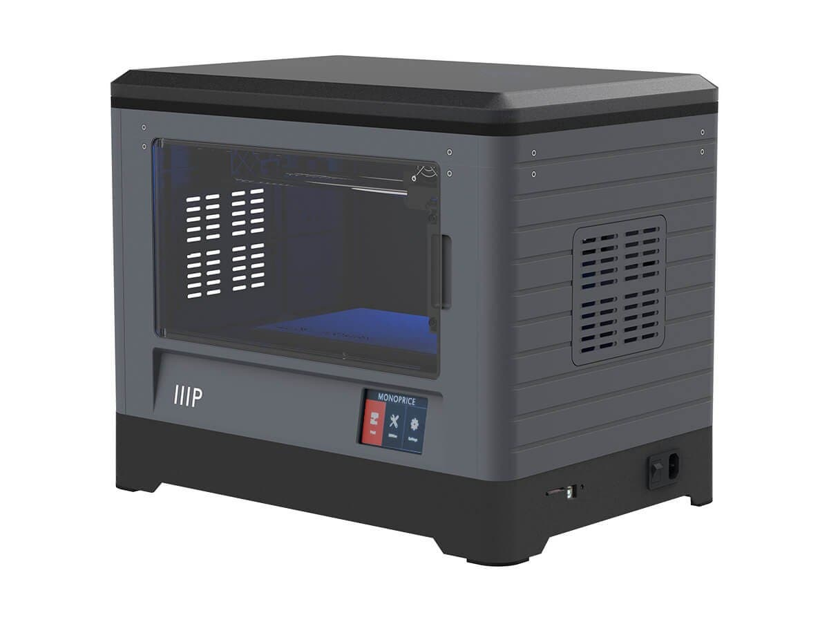 MP Fully Enclosed Dual Extruder 3D Printer, Easy Wi-Fi, Touch Screen,