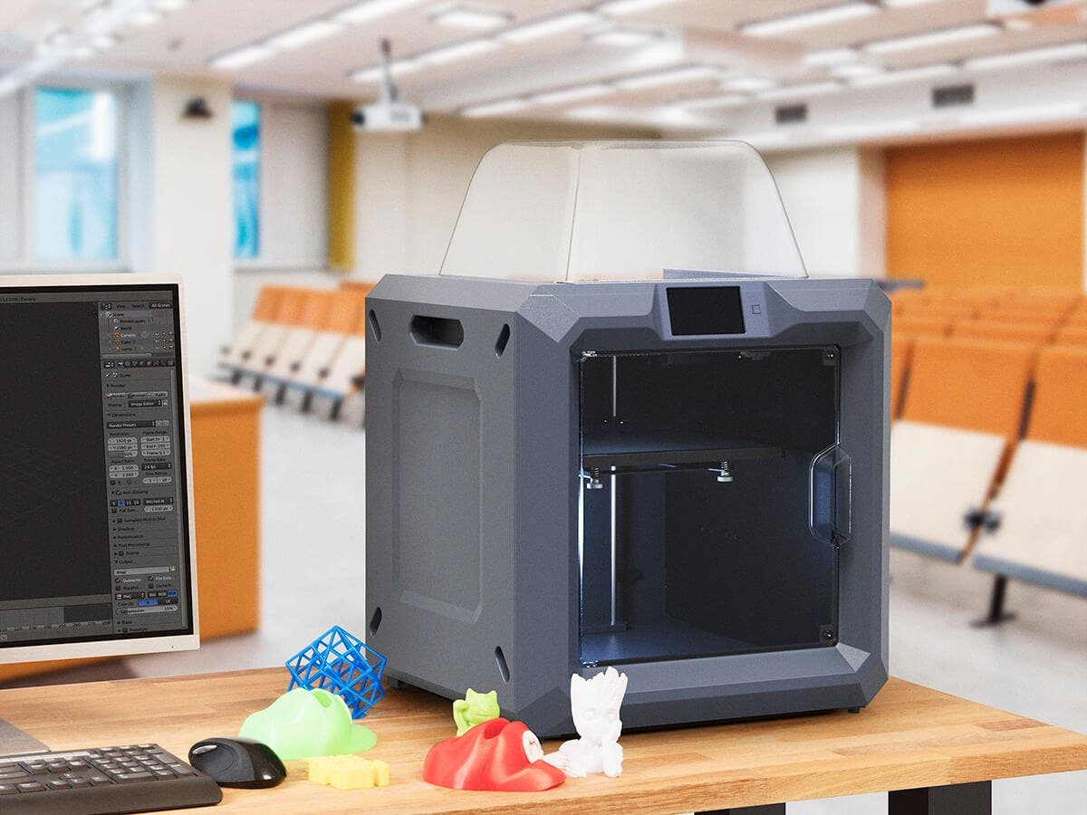 MP Fully Enclosed 300 3D Printer Easy Wi Fi Touch Screen Large