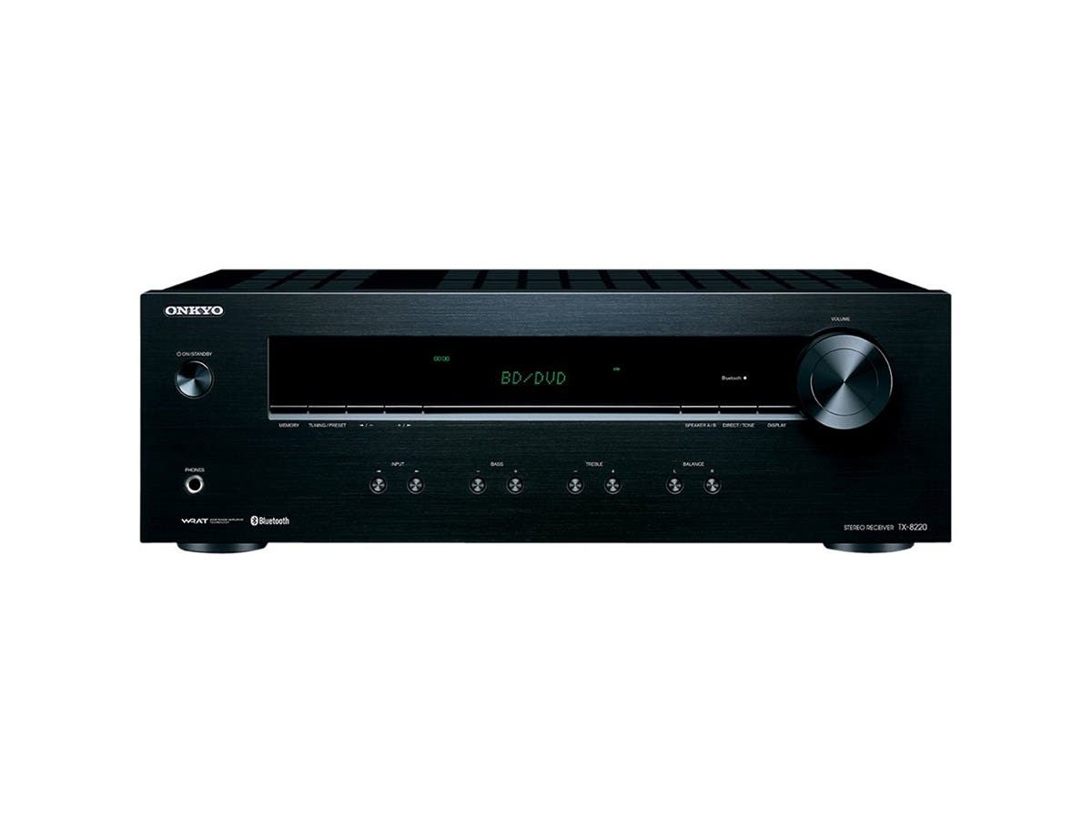 Onkyo TX-8220 Analog Home Audio/Video Stereo Receiver w/Bluetooth-Large