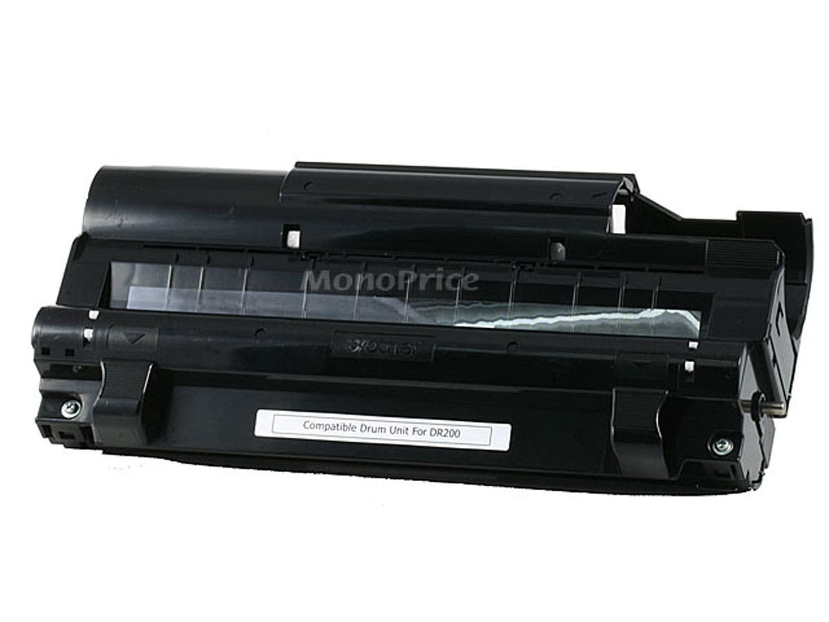 Monoprice DR-200 Remanufactured Drum Unit for BROTHER IntelliFax 2600, MFC-4300, MFC-9500 printers-Large-Image-1