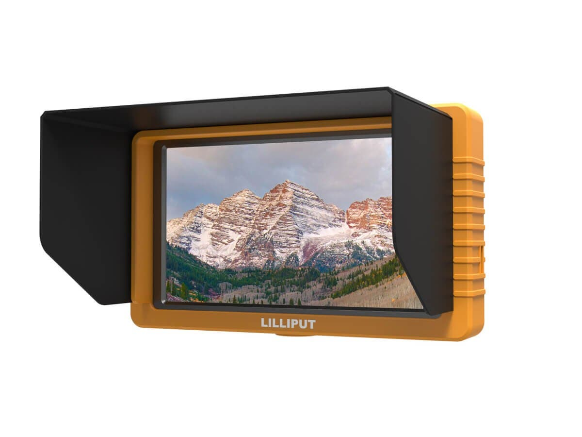 Lilliput 5.5in FHD Camera Monitor with SDI and HDMI Cross Conversion-Large-Image-1