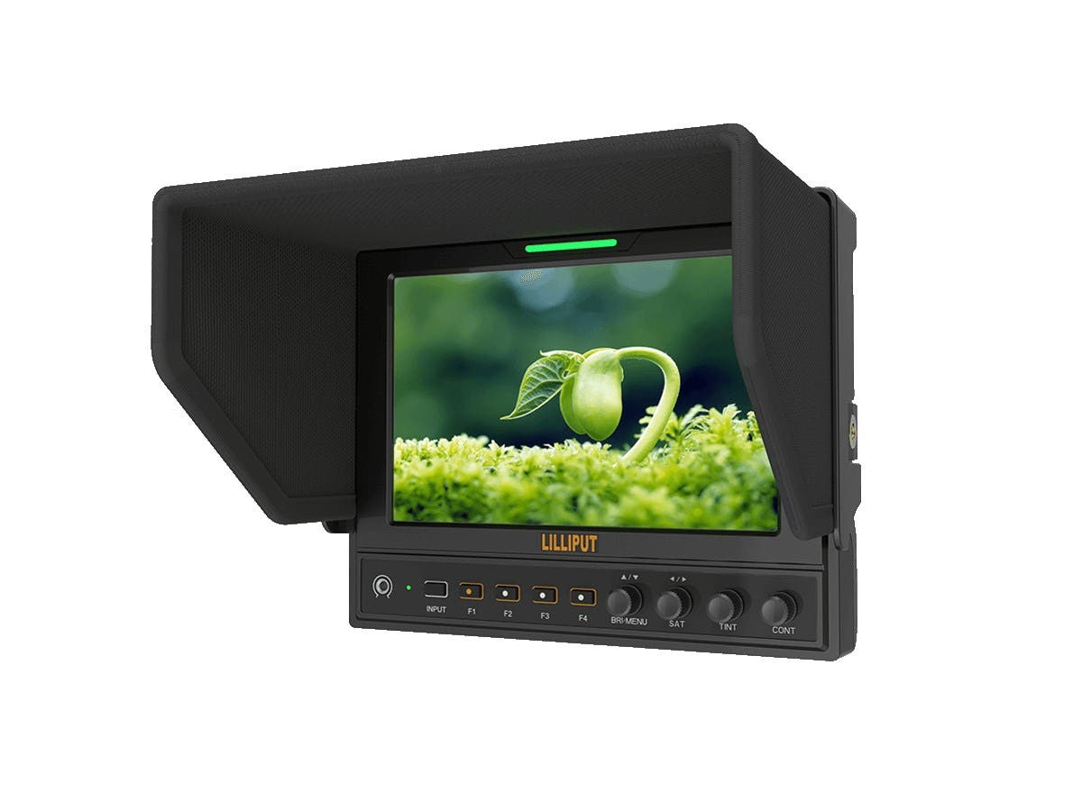 Lilliput 7in 3G-SDI Camera Top Monitor with Advanced Functions - main image