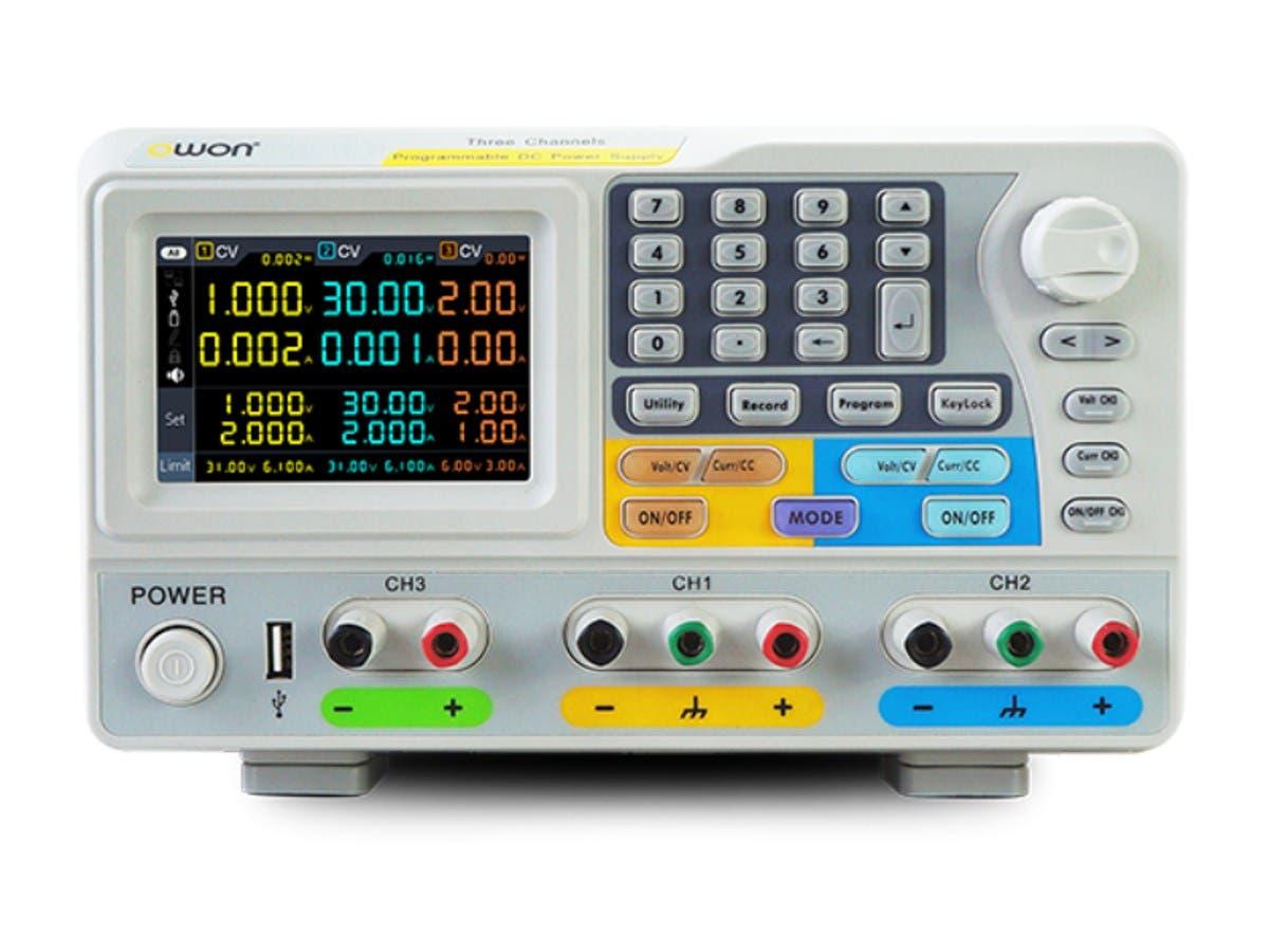 Monoprice Programmable DC Power Triple Output ODP Series PSU - main image
