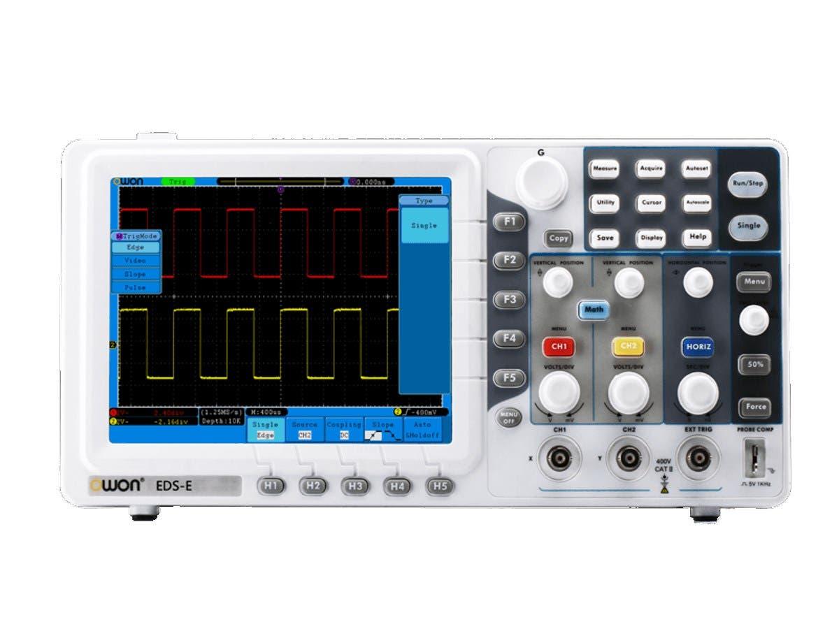 Monoprice Dual-Channel Smart Digital Storage Oscilloscope-Large-Image-1