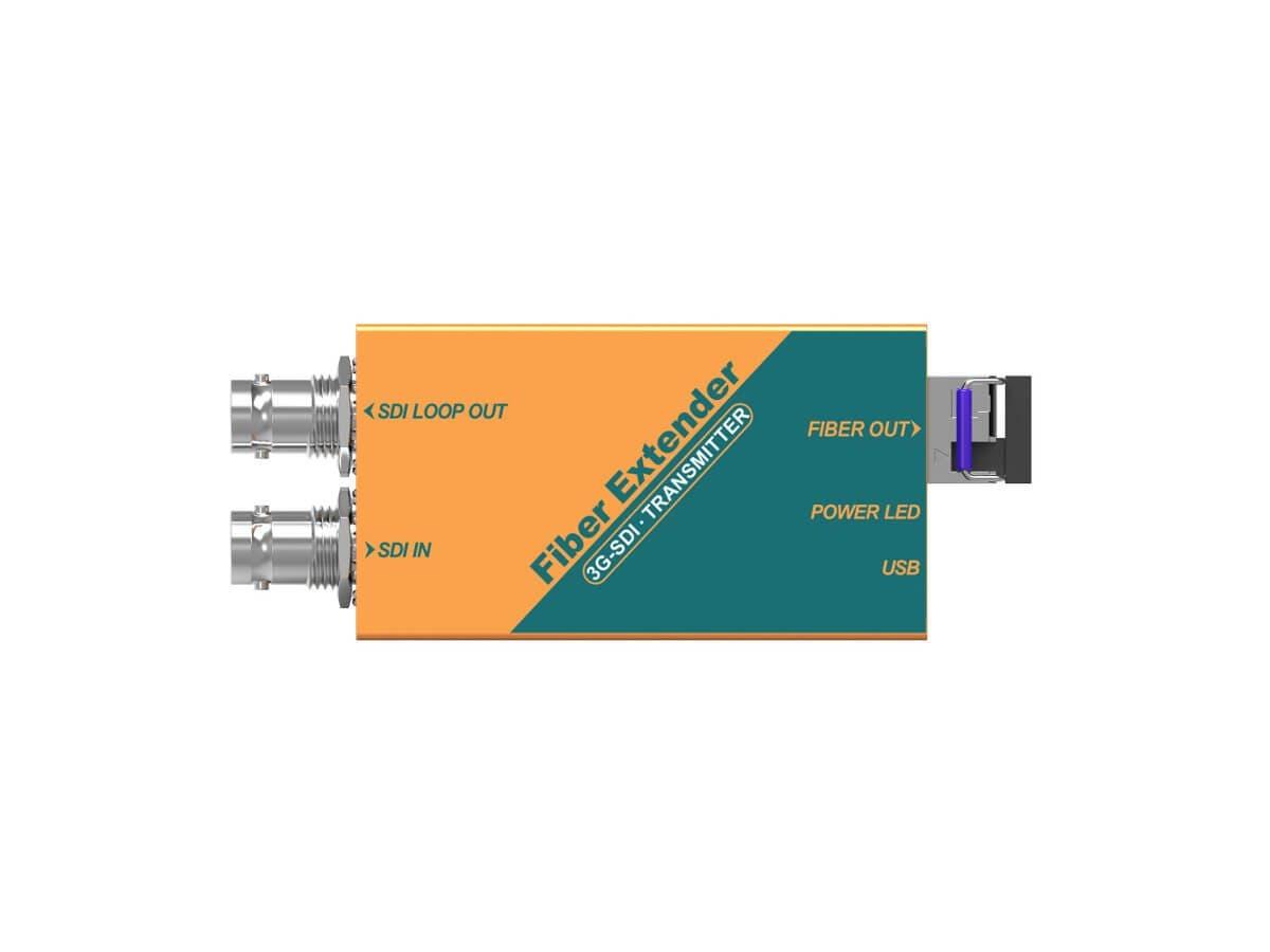 Monoprice 3G-SDI Fiber Optic Extender - main image