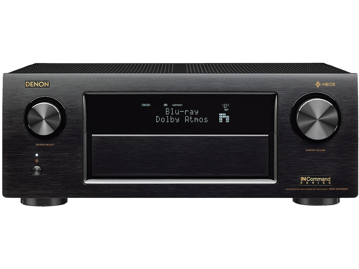 Denon AVR-X4400H 9 2 Channel Dolby Atmos & DTS:X 4K Ultra HD Network